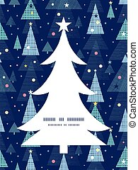 Vector abstract holiday christmas trees Christmas tree...