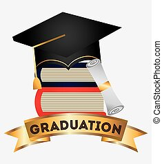 graduation design - graduation graphic design , vector...