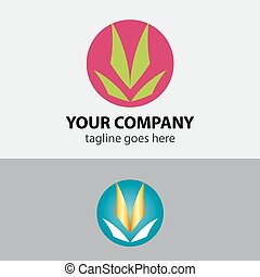 Ecology icon - green design - growth vector sign