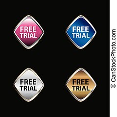 Free trial label set