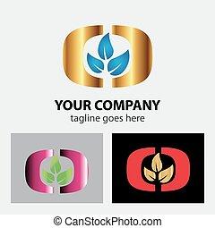 Three leaf logo