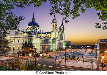 Almudena Cathedral of Madrid, Spain - Madrid, Spain at La...