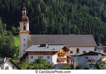 Rural church - Church in a small town in Austria