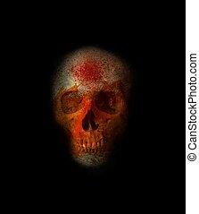 Scary Skull 2 - Scary Halloween Skull