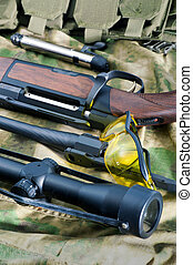 Different types of rifle guns