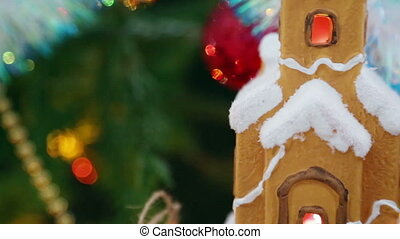 Christmas decoration - pan view - Christmas decoration -...