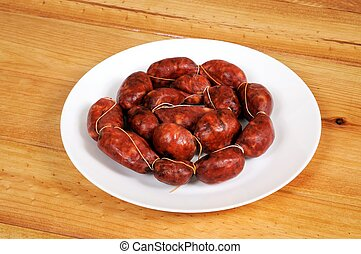 Spanish Chorizo Sausage.