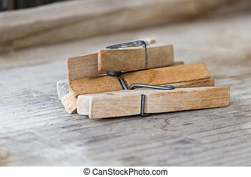 clothespins - wood clothespins