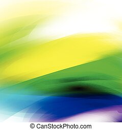 abstract colorful brush paint style background, vector illustrat