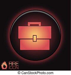 briefcase symbol