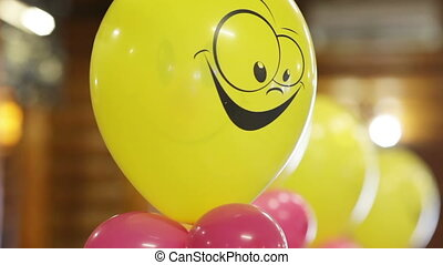 Several balloons - Helium-filled balloons to children's...