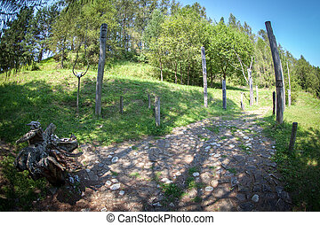 Celtic sacrificial place at Havranok - Slovakia - Celtic...