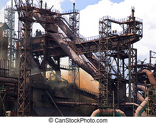 Metallurgical plant blast furnace - Operation of a...