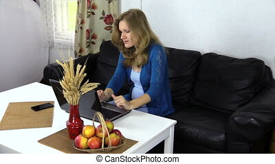 pregnancy work computer