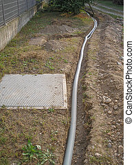 Corrugated pipe - Corrugated PVC pipes for underground...