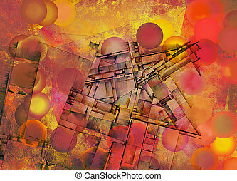 Abstraction - Futurism Abstract