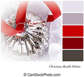 Chrsitmas Bauble Palette