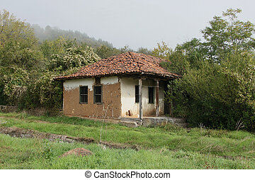 Abandoned house - Old abandoned house in Bulgarian...