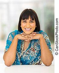 beautiful young indian woman