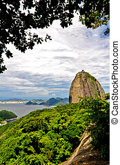 Sugarloaf Mountain, one of the most popular attractions in...