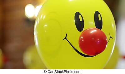 Smile balloons - Helium-filled balloons to children's...