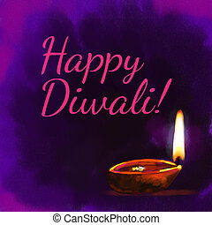 Diwali festival - Diwali, the festival of lights in India,...