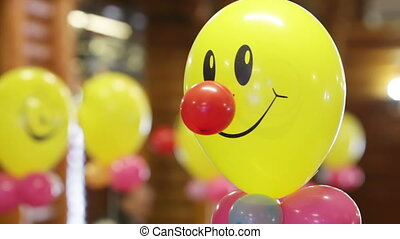 Severals balloons - Helium-filled balloons to childrens...