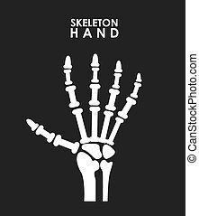 x rays design - x rays graphic design , vector illustration