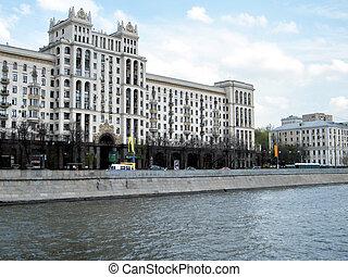 Moscow the Kotelnicheskaya quay 2011 - The Kotelnicheskaya...