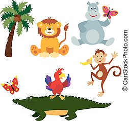 African animals set 2