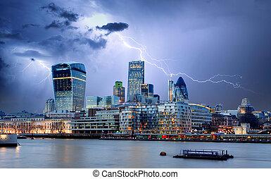 cidade, Londres, Reino Unido