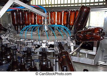 Brewery washing machine.