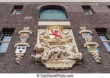 coat of arms Delft, Armamentarium Ordinum Hollandia -...