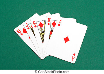 Royal Flush - A perfect poker hand