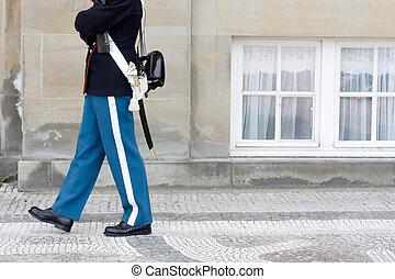 Royal Danish Guard - Guarding the Queen of Denmark