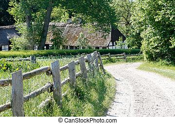 Rural scene - A rural scene
