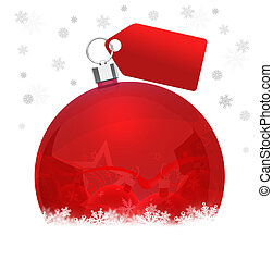 Christmas promotion - Christmas background for your design.