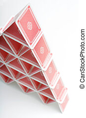 Card House - A house of playing cards