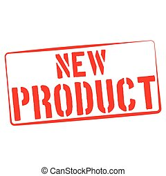 Stamp Illustration on White Background of  the word New Product