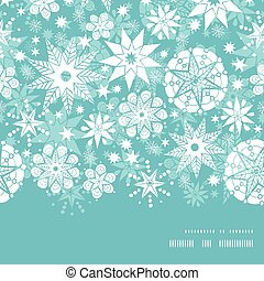 Vector decorative frost Christmas snowflake silhouette...
