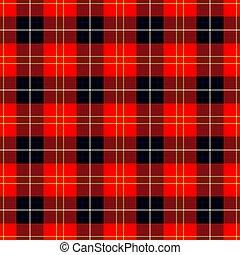 textil, Retro, textura, patrón, para, Falda escocesa,...