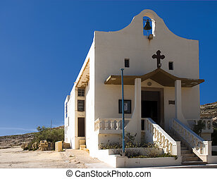 Quaint Chapel - St Anne Chapel in Dwejra in Gozo typical of...