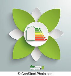 Eco House Green Flower Energy Pass