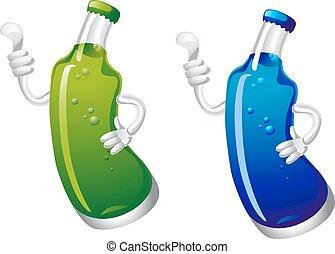 Cola drink bottle