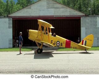 Tiger Moth - A 1938 Tiger Moth Airplane