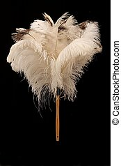 Ostrich Feather Duster - Large feather duster made from...