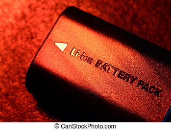 Battery Pack - Close up of a battery pack