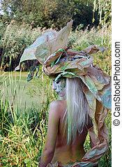 fairy girl backside
