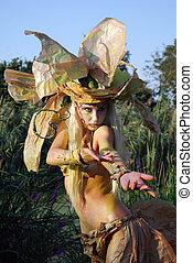 fairy girl dance
