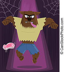 Werewolf halloween character More Halloween images in my...